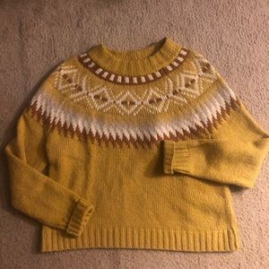 NWOT American Eagle Fair isle Sweater. M